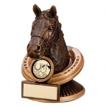 Endurance Horse Head Trophy